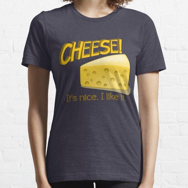 fromage Lover Fromage La Vie T-shirt homme-choisir la vie-FOOD-Cheddar-EDAM