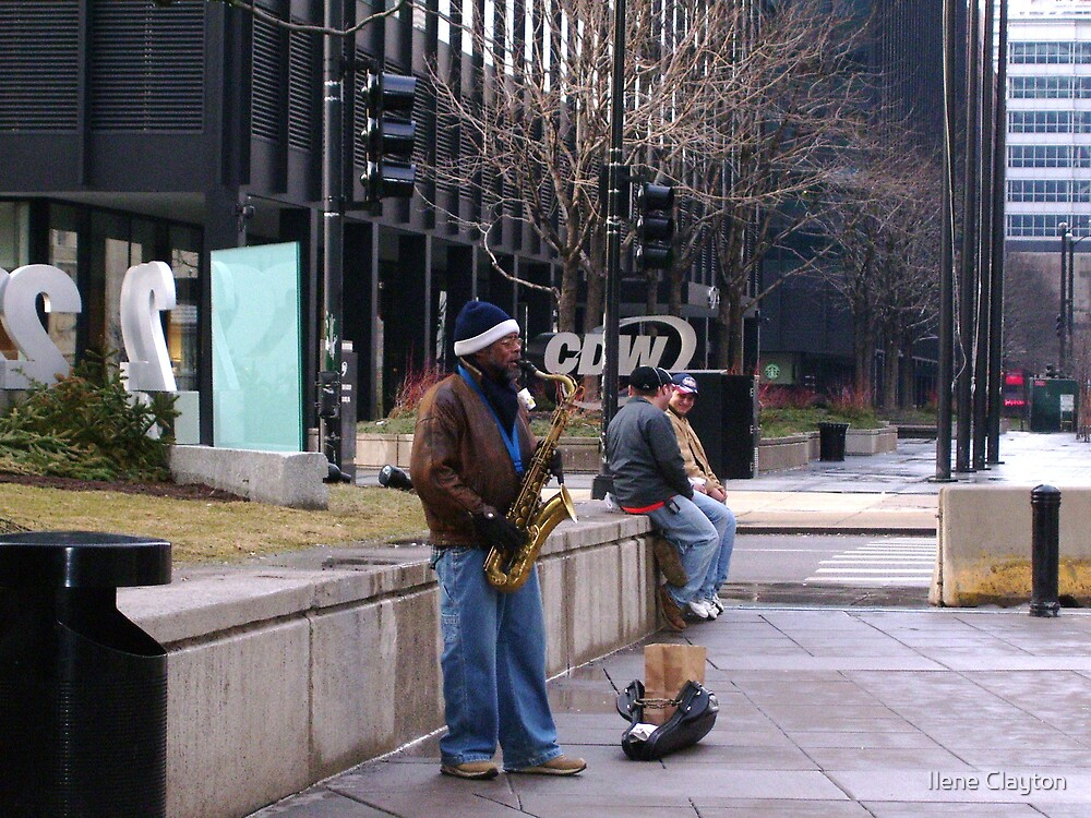 Street Jazz by Ilene Clayton
