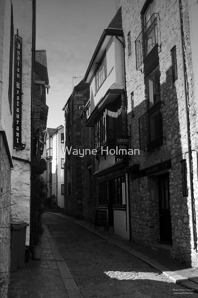 Ye Olde Town, Plymouth by Wayne Holman