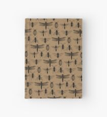 Entomology studies pattern Hardcover Journal