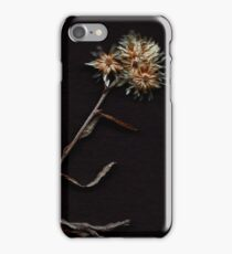 Scanograph Wildflowers iPhone Case/Skin