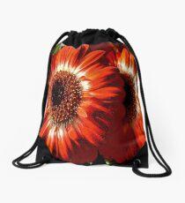 FloralFantasia 26 Drawstring Bag