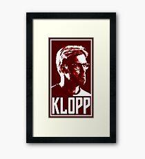 Kloop Pop-Art Framed Print