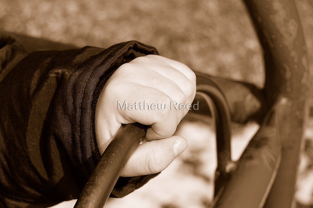 just hold on... by Matthew Reed