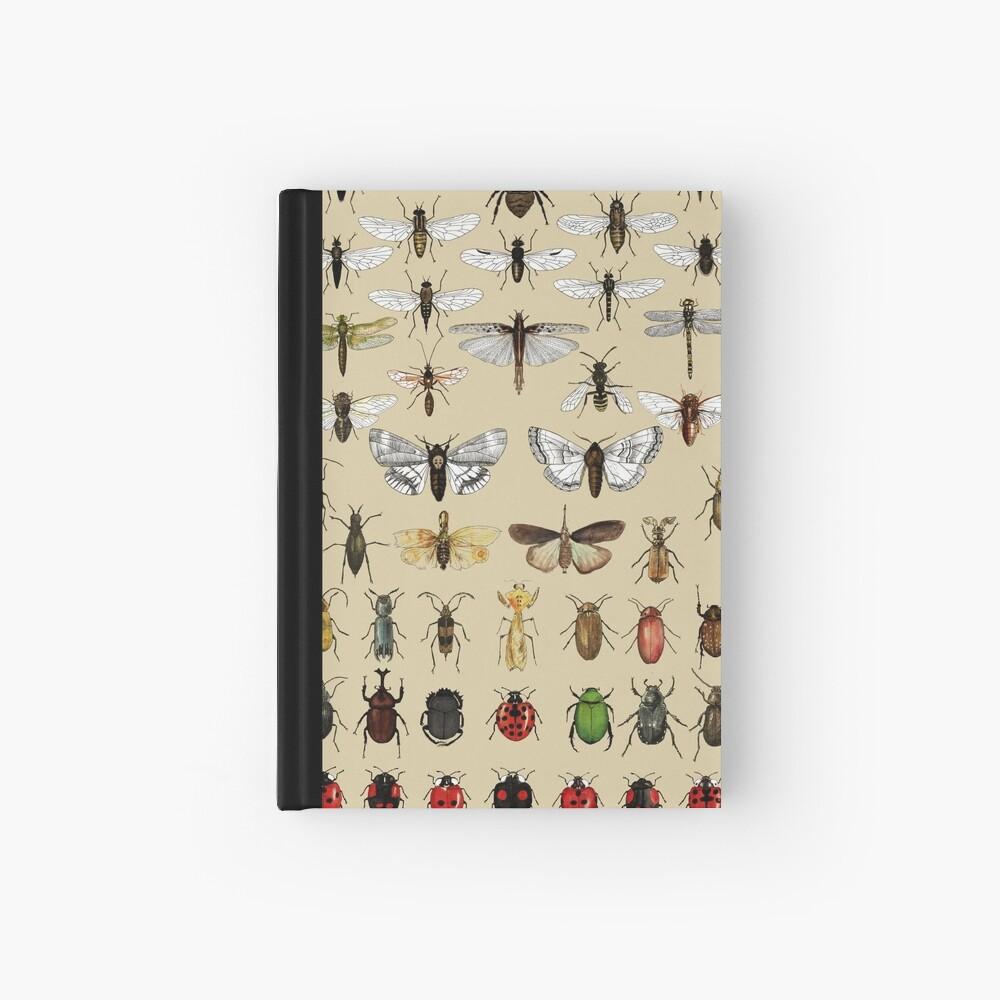 Colección de estudios de entomología de insectos Cuaderno de tapa dura