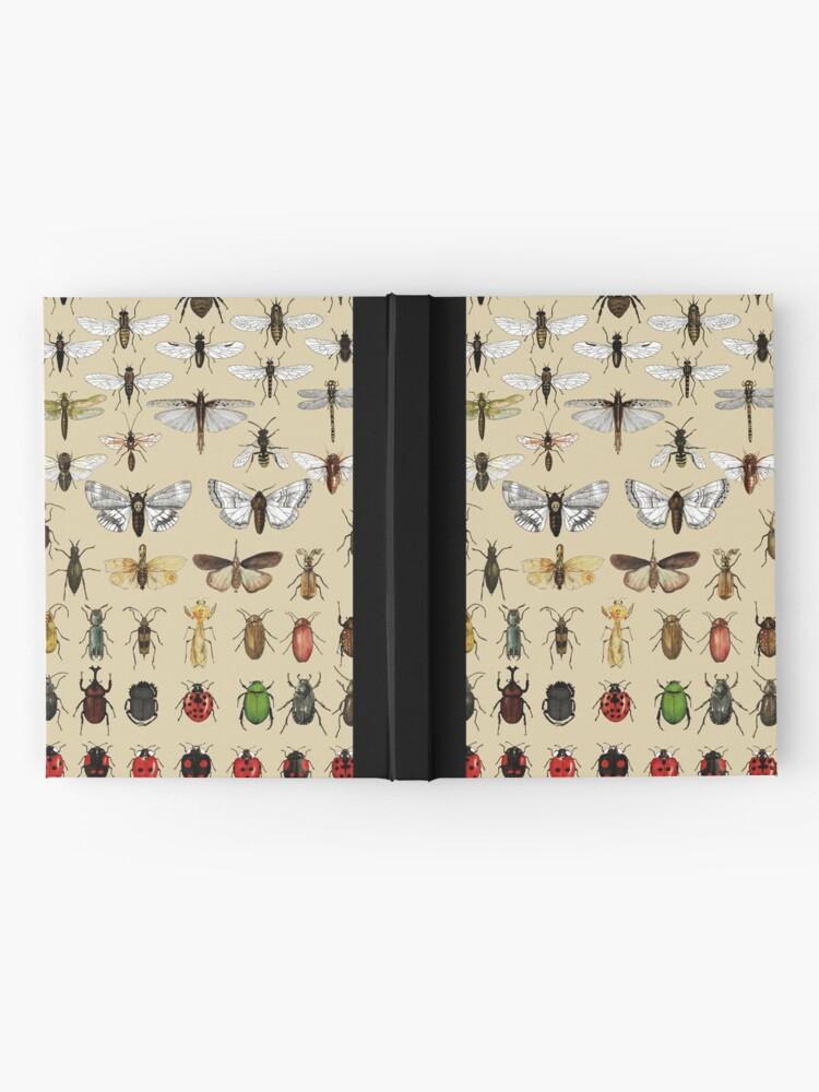 Vista alternativa de Cuaderno de tapa dura Colección de estudios de entomología de insectos