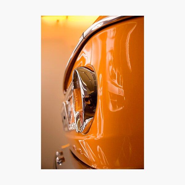 orange glow I Photographic Print