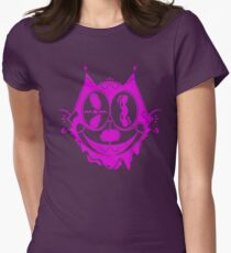 Trippy Felix Womens Fitted T-Shirt