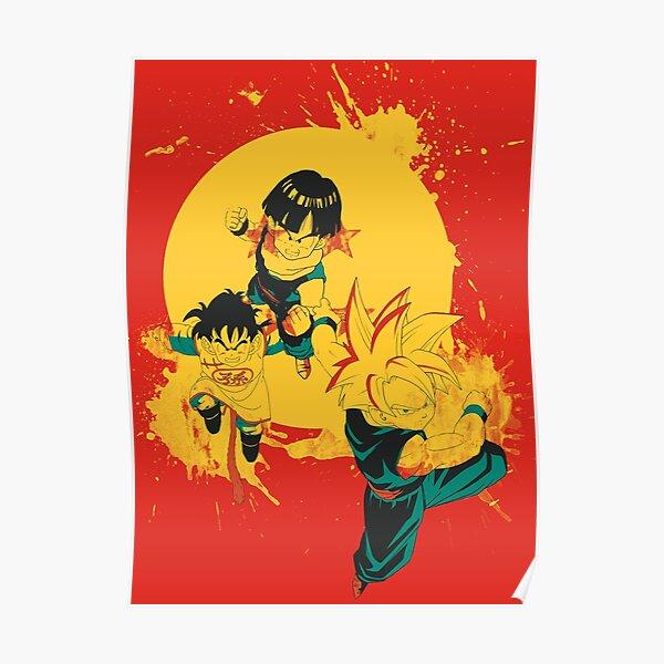 Kid Gohan Poster