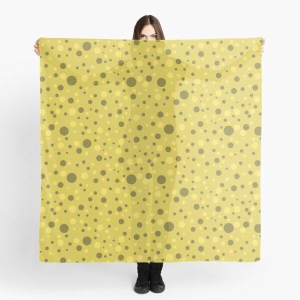 Yellow Spots Scarf