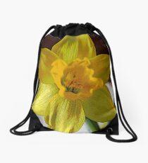 FloralFantasia 28 Drawstring Bag