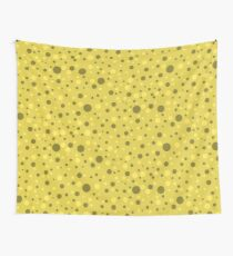 Yellow Spots Wall Tapestry