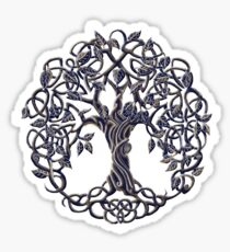 Tree of Life Silver Sticker