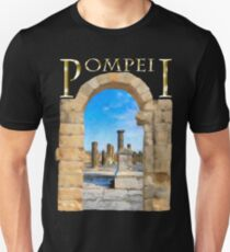 The Ruins Of Ancient Pompeii Unisex T-Shirt