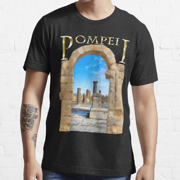 The Ruins Of Ancient Pompeii Essential T-Shirt