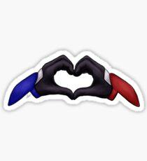Klance Heart Hands Sticker