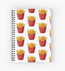 French Fries Graphic Spiral Notebook