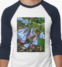 FloralFantasia 29 Men's Baseball ¾ T-Shirt