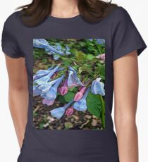 FloralFantasia 29 Women's Fitted T-Shirt