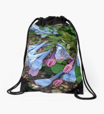 FloralFantasia 29 Drawstring Bag