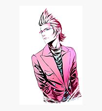 Dash of Pink, Pinch of blue Ignis Ver. Photographic Print
