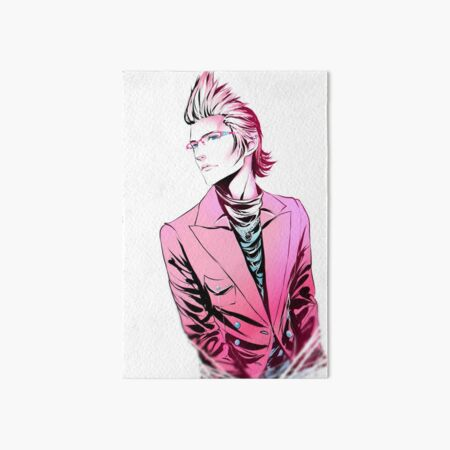 Dash of Pink, Pinch of blue Ignis Ver. Art Board Print