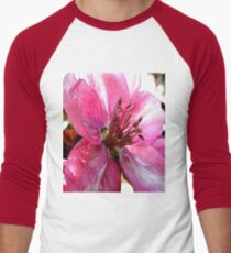 FloralFantasia 30 Men's Baseball ¾ T-Shirt