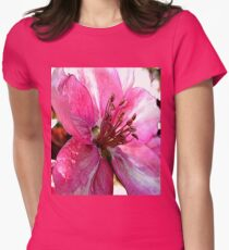 FloralFantasia 30 Women's Fitted T-Shirt