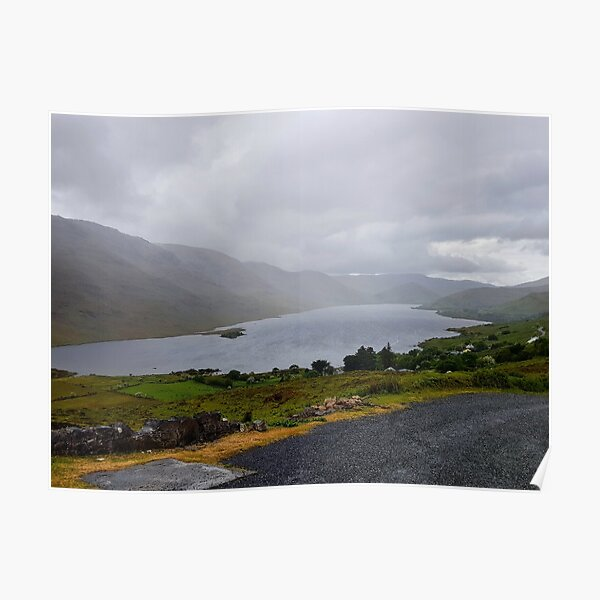 Lough Nafooey Co. Galway Poster