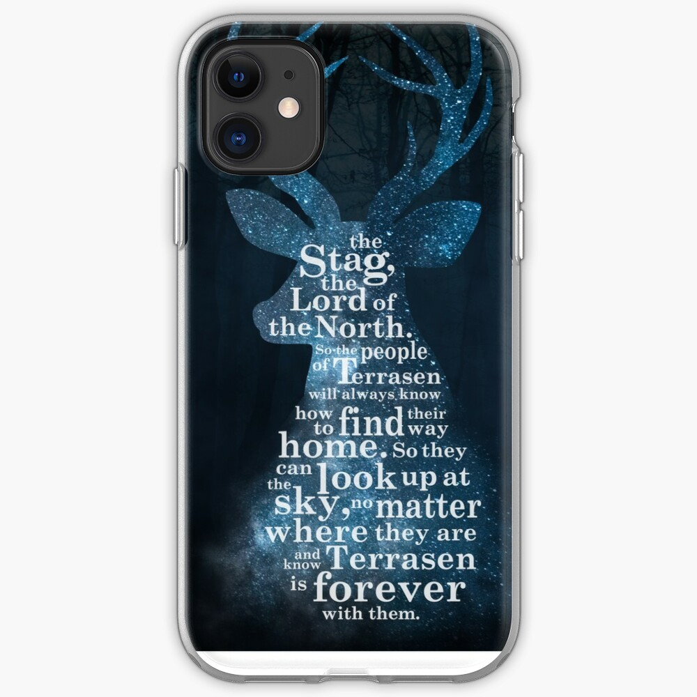 Throne of Glass - The Stag, the Lord of the North iPhone Case & Cover