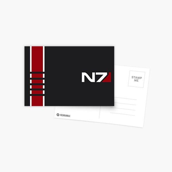 Effet de masse - N7 Stripe Carte postale