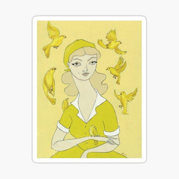 Canary Keeper Sticker