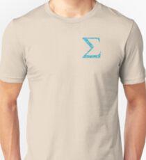 Sigma Tropical Water Blue Greek Sorority T-Shirt