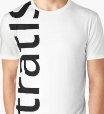 Stratis Blockchain Logo w/ Text Graphic T-Shirt