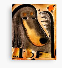 Black and Tan Dachshund Dog Canvas Print