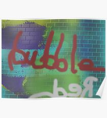 red bubble 2 Poster