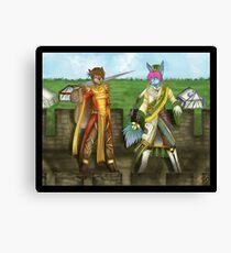 dynasty warriors  parody  Canvas Print