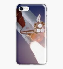 Space Shuttle Entering Space iPhone Case/Skin
