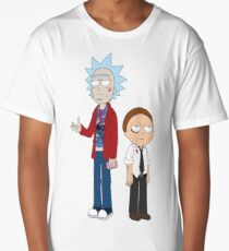Rick and Morty / Fight Club Long T-Shirt