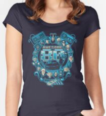 Awesome 80s Women's Fitted Scoop T-Shirt