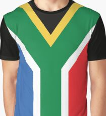 South African Flag Graphic T-Shirt