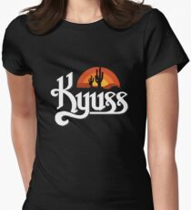 Kyuss Band Womens Fitted T-Shirt
