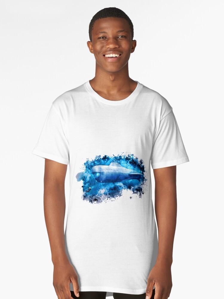 Subnautica Long T-Shirt Front