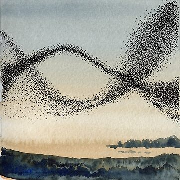 Murmuration Series - No. 3 by amandaroe5