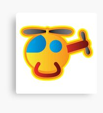 Little Helicopter Canvas Print