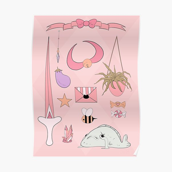 Bee and Puppycat Aesthetic Poster