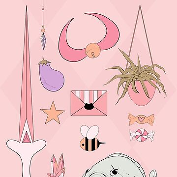 Bee and Puppycat Aesthetic by art-shy