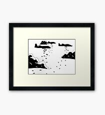 WWII Bombers #1 Framed Print
