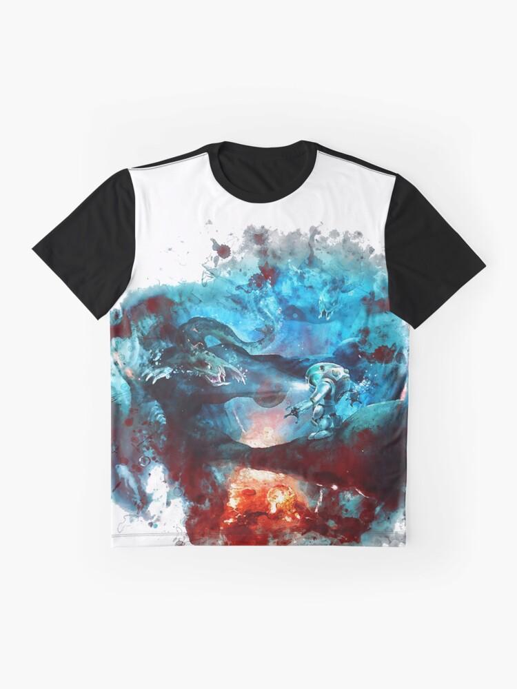 Alternative Ansicht von Subnautica Grafik T-Shirt