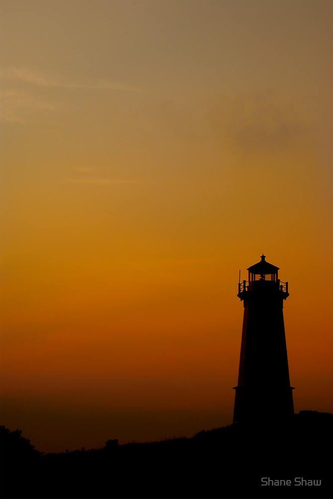 Lighthouse at Dusk by Shane Shaw